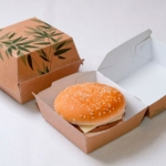 Boite burger Feel Green - 00020775 - Delice & Creation - Distributeur dedie aux artisans boulangers patissiers