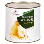 Demi-poires Williams - 00004131 - Delice & Creation - Distributeur dedie aux artisans boulangers patissiers