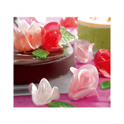 Roses assorties - 00002505 - Delice & Creation - Distributeur dedie aux artisans boulangers patissiers