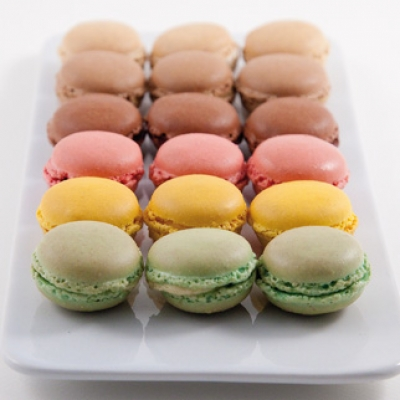 Assortiment de mini macarons - 00010457 - Delice & Creation - Distributeur dedie aux artisans boulangers patissiers